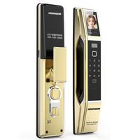 Безопасность электронных замок цифровой Smart Lock Электронный Digtial дверной замок смарт карты клавиатура пароль код Pin