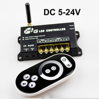 4 Group 2.4G RF Led Dimmer Touch Switch Control DC 5V 12V 24V Led Dimmer for Led Strip Light RF Touch Dimmer