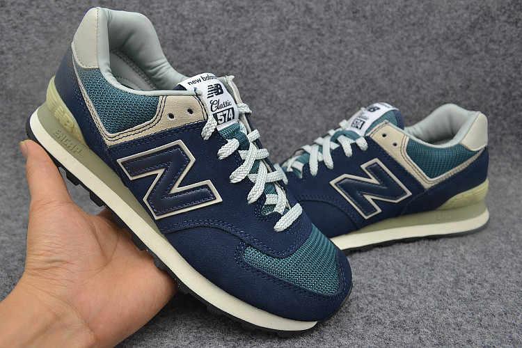 New Balance 574 NB574 classic running shoes men women sport shoes Retro fashioned casual shoes 36 44