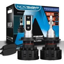 NIGHTEYE светодиодный автомобильных фар лампы Противотуманные огни H1 H3 H7 H11 9005 9006 60 W 10000LM 6500 K NovSight A500-N13
