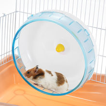 DADYPET 8.3inch Rat Wheel Hamster Mice Gerbil Rat Exercise Wheel Silent Spinner PP Run Disc Small Animal Pet Toy Rat Run Disc(China)