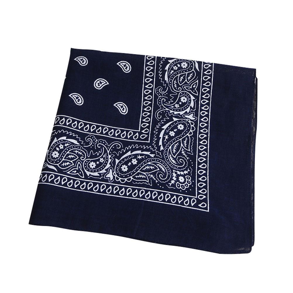 Multipurpose Bandana Printed Cotton Headband Sweat-absorbing Handkerchiefs