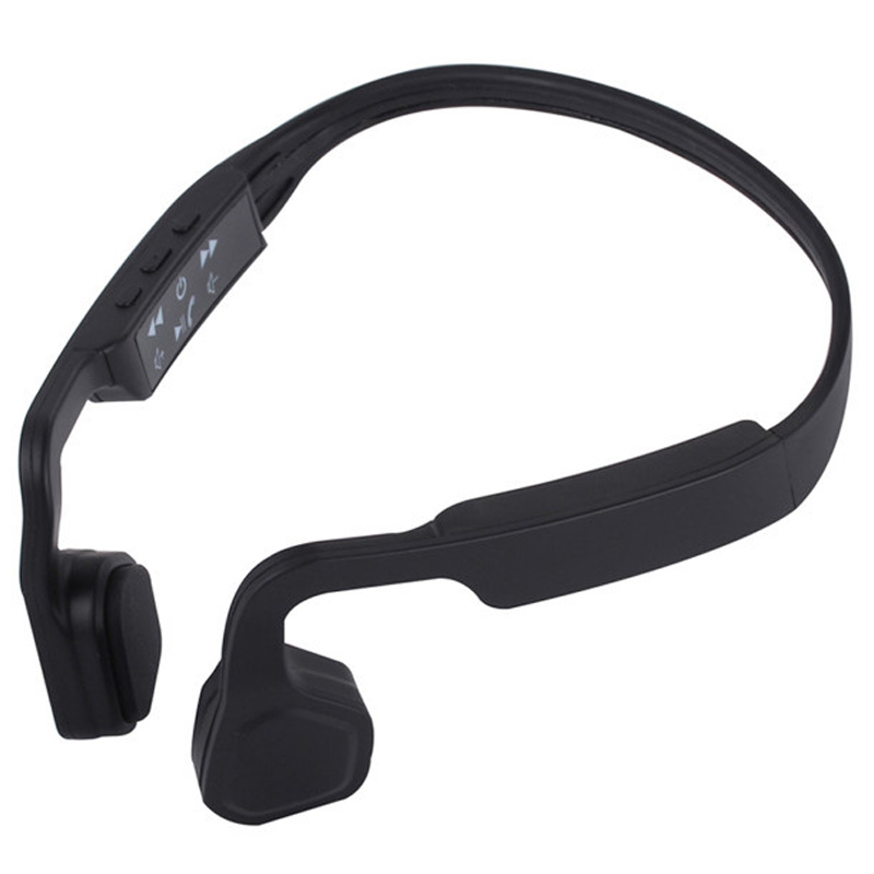 Professional S-18 Sport Bluetooth Headset Over The Ear Bone Conduction Handsfree Running Headset