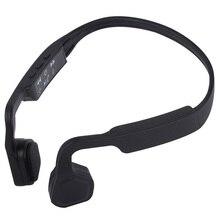 цена Professional S-18 Sport Bluetooth Headset Over The Ear Bone Conduction Handsfree Running Headset онлайн в 2017 году