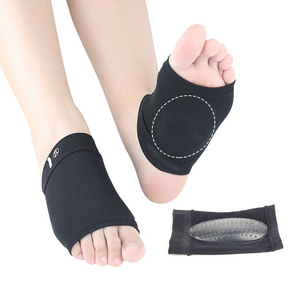 1 Pair Arch Support Sleeves Plantar Fasciitis Heel Spurs Foot Care Flat Feet Sleeve Socks Cushions Orthotic Insoles Pads