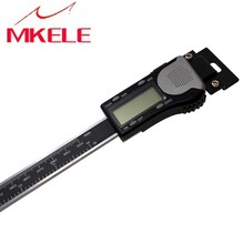 цена на 0-300mm Digital Scale Horizontal Electronic High Accuracy Caliper Scale Stainless Steel Digital Horizontal Linear Scale