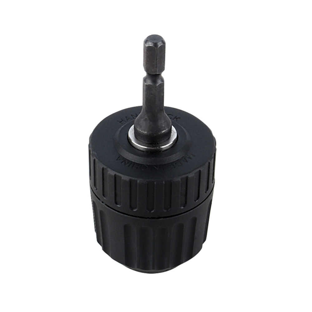 "Power Tools Adapter Accessories 0.8-10mm Chuck Keyless Drill Chuck Converter 3/8"" 24UNF  + 1/4"" Hex Shank SDS Adaptor"