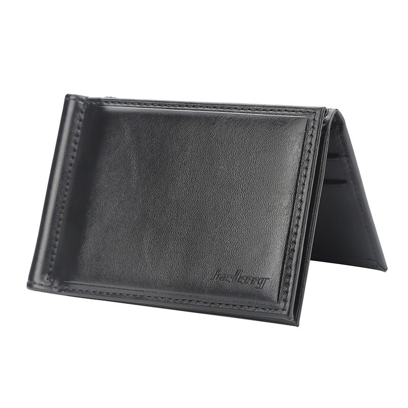 Men 39 s Small Wallet Short Section Cross Section Multi Function Us Dollar Package Clips in Wallets from Luggage amp Bags
