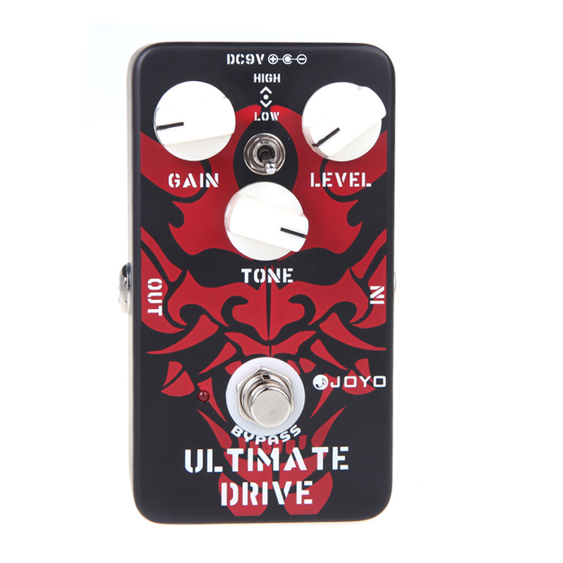 JOYO JF 02 Electric Guitar Effect Pedal Ultimate Drive Overdrive Guitar Pedal Aluminum alloy Body Guitar