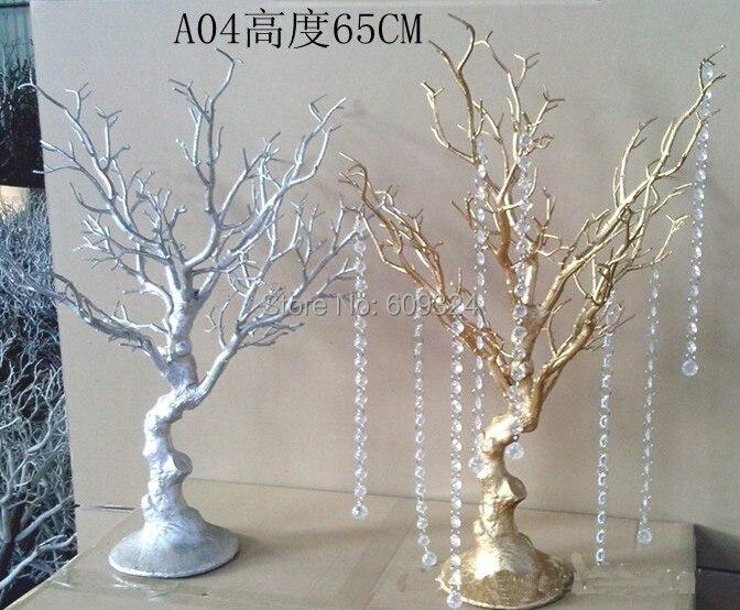 Wedding Centerpiece Wedding Wishing Tree 65cm Tall Artificial Statue