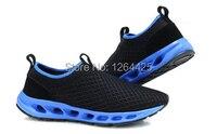 весна и лето через часть воздухопроницаемый обувь на открытом воздухе спортивная обувь экран ткань свободного покроя обувь
