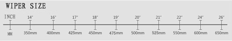 RAINFUN 26+ 16 дюймов специальный автомобиль стеклоочистителя для TOYOTA PRIUS(03-), высокое качество ветрового стекла стеклоочистителя, 2 шт в партии