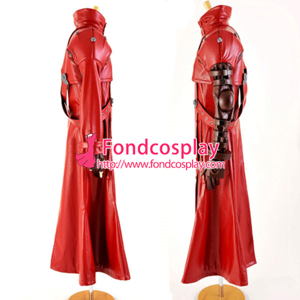 Free Shipping Trigun Vash The Stampede Outfit Jacket Coat Cosplay