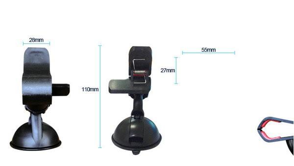 универсальный лобовое стекло автомобиля подставка держатель кронштейн для для iPhone 4 5 5С 5 г мобильный телефон / GPS навигатор / МР4 поворот на 360 град