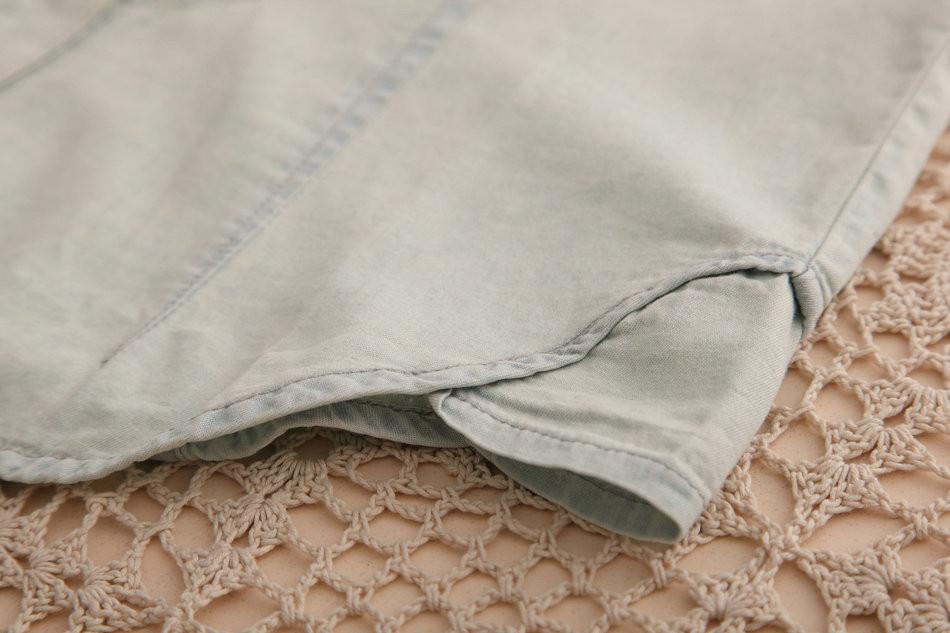 1132 весна одежда новинка женщины без рукавов хомбре туфли-botas джинсы блузка топ рубашки карман рубашки м, L лето рубашка