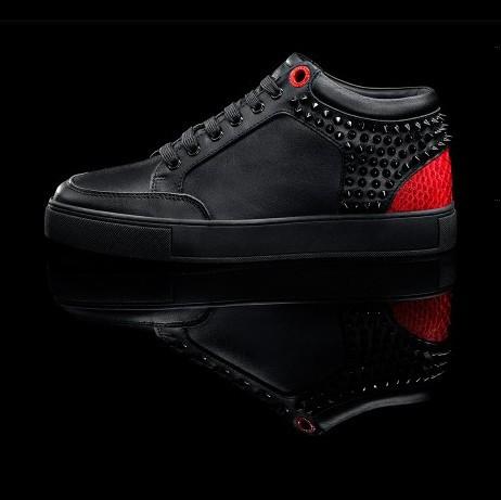 d31e48bc1a0 sale royaums shoes holland royaums men kilian black red sneakers ...