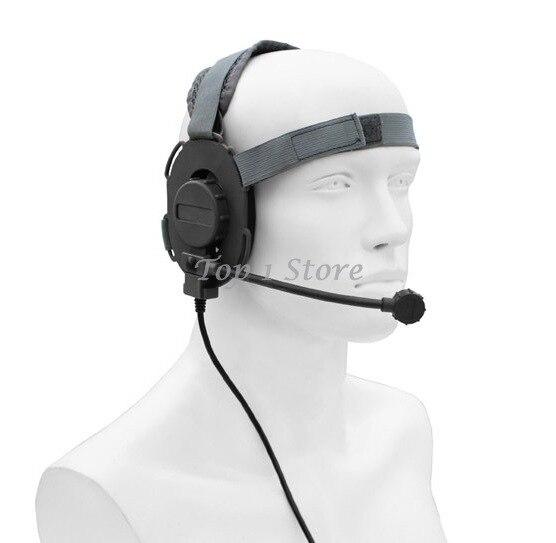 Z-t elemento airsoft paintball caça tático bowman evo iii headset (z 029)