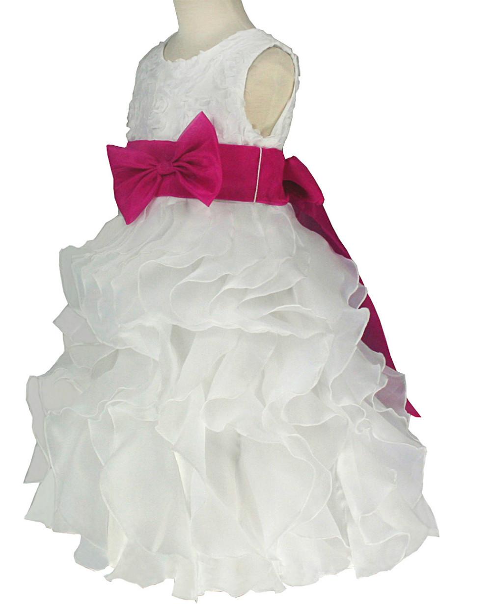 i0038f бесплатная доставка кот и фуксия органзы Тереза veto платье 2 4 6 8 10 12 лет