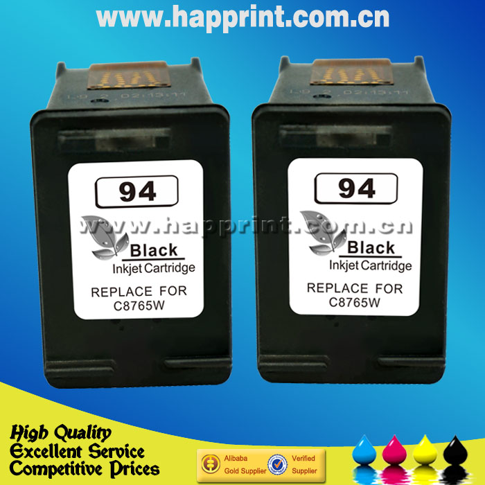 For Hp 94 Printer Ink Cartridge Hp Officejet 150 Mobile All In One Printer L511a Hp Officejet H470 Mobile Printer 2pcs Printer Ink Cartridge Reset Printer Patternprinter Copier Fax Scanner Aliexpress