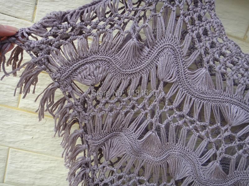 Hippie verano Crochet Tops mujer blusas blusas de encaje femininas ...