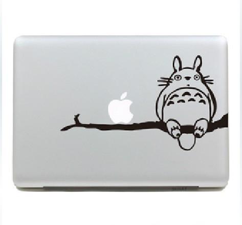 деко тоторо виниловые передняя наклейки ноутбук кожи для Mac книга Pro / воздуха 13 ' 15 ' 17