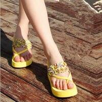 дамы разбиты прекрасные модные босоножки летом пол туфли на высоком bloke пленку