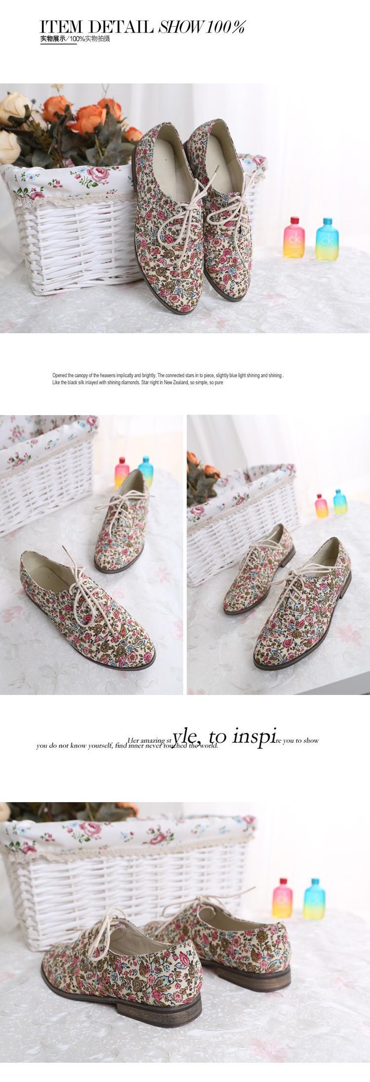 бесплатная доставка новый энглунд стиль цветочные обувь досуг старинные женская квартиры туфли