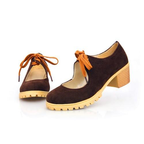 нубука кожа свободного покроя школа обувь красный, черный, желтый, коричневый