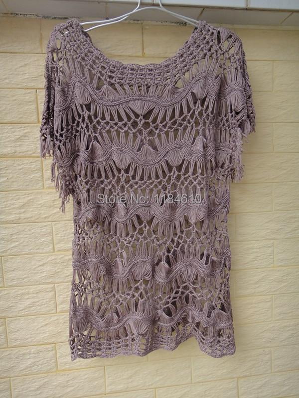 Hippie Summer Crochet Tops Women Blouses Lace blusas femininas Cube ...