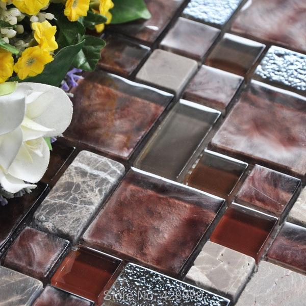 Gl Mosaic Wall Tiles