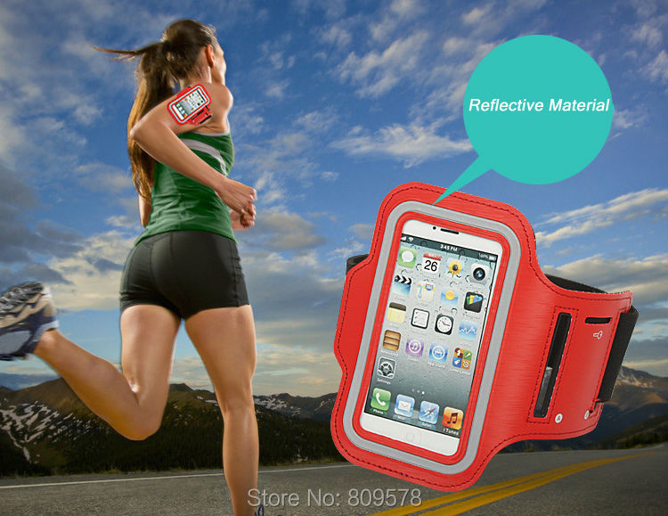 Haissky Sport Running Armband Case For Iphone Xs Xr 6s 7 8 Plus Samsung S8 S9 Plus Xiaomi Mi8 Pocophone F1 Touch Screen Arm Bag Neither Too Hard Nor Too Soft Mobile Phone Accessories Armbands
