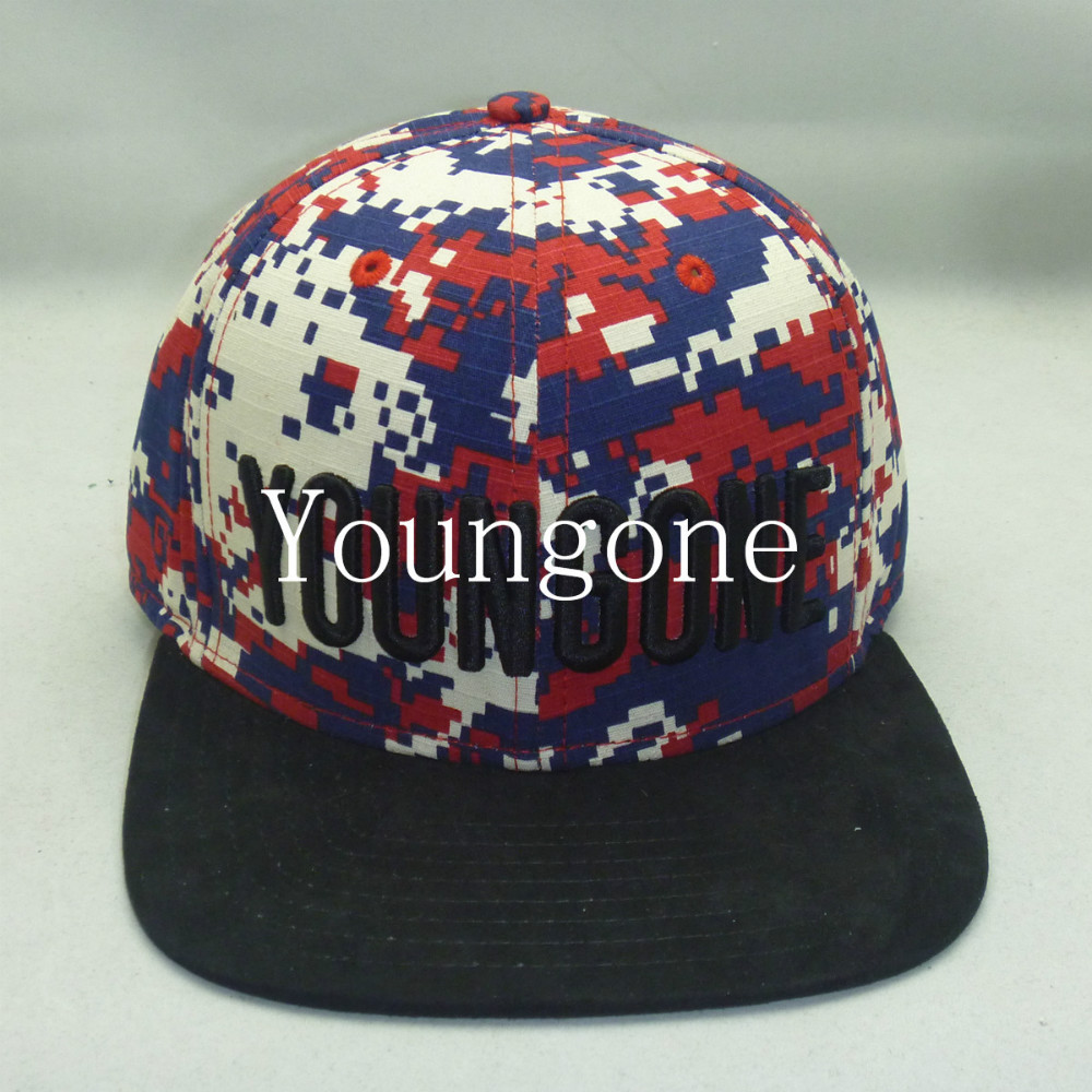 cf692b5a20982 Youngone custom headwear Supreme style 6 Panel snapback hat ribstop ...