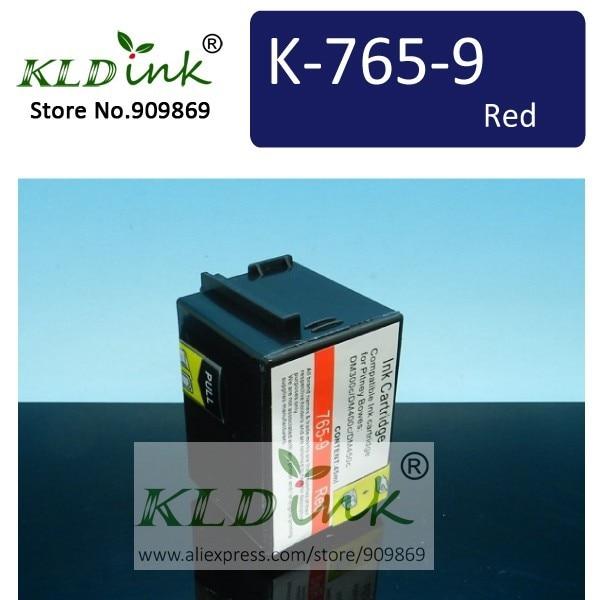 Совместимость 765-9 765-9RN 765-9SN красный Почтовая метр чернила для Pitney Bowes DM300c DM400c DM450c франкировальная