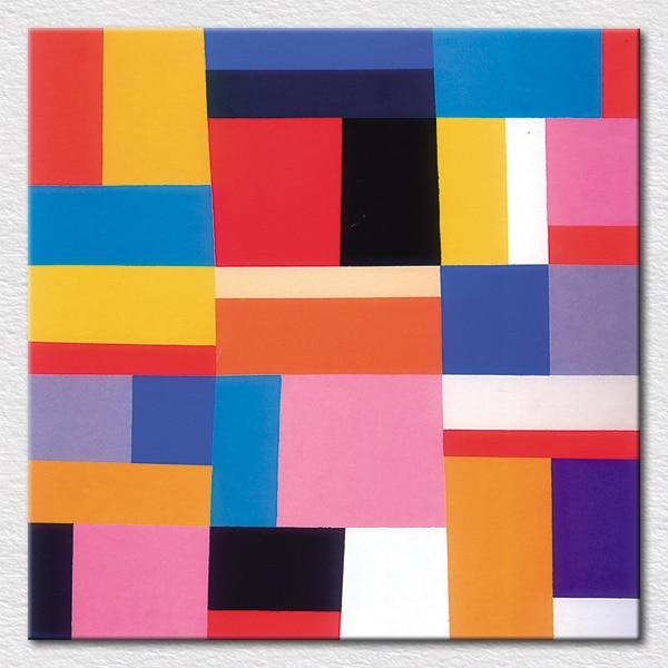 Cetakan Sederhana Dan Indah Busana Lukisan Seni Abstrak Sebagai