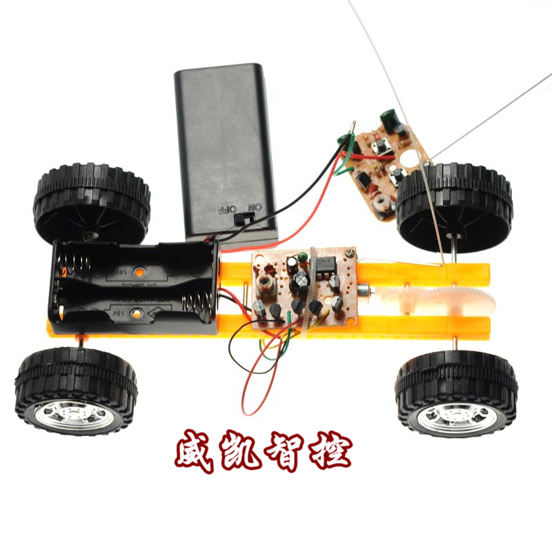 The Two Way Remote Control Car Toy Car Diy Toy Car Toy Car Assembly