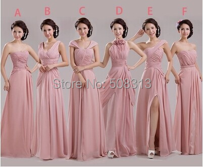 Bridal formal wear wedding party long dresses fashionable off ...