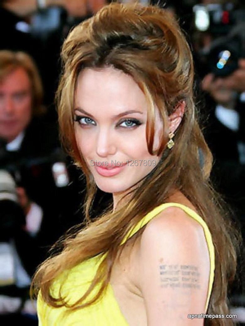 Angelina jolie Frete Grátis Custom Made Sexy