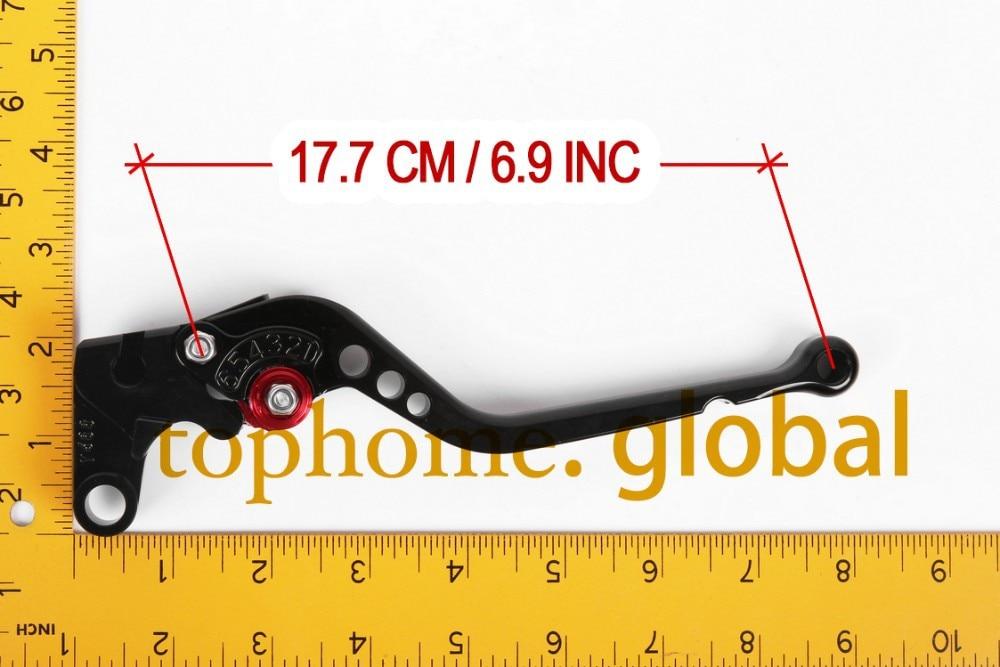 Для MV Agusta F3 800/AGO 2004 2005 2006 2007 2008 Черный ЧПУ сцепления тормозные рычаги CNC Adjustale