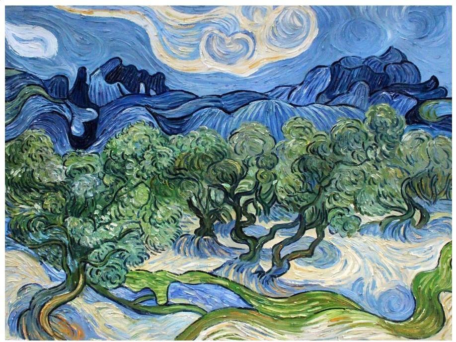 100 Handpainted Landscape Oil Painting On Canvas Vincent