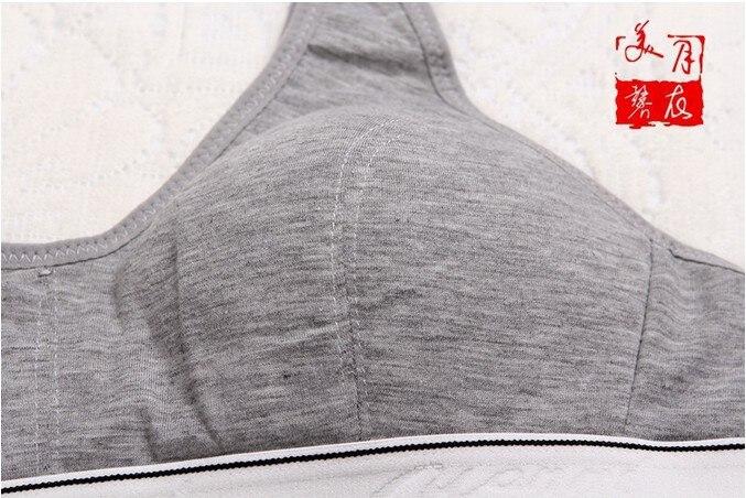 New Fashion Women 100% Cotton Bust Push Up Bra Underwear Bra 70 75 80 85 Size (32 34 36 38) 6