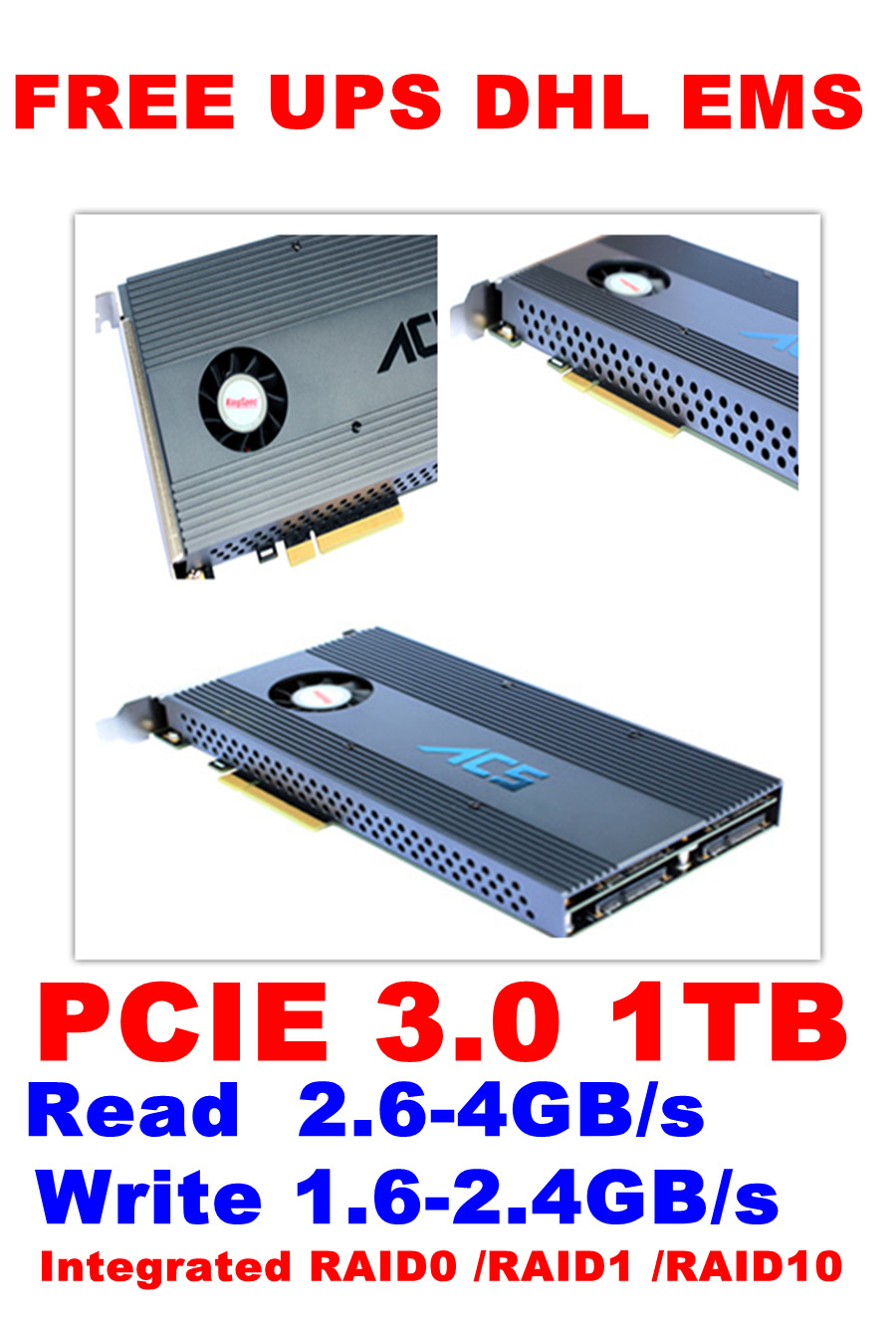Multicore Series PCIE 3.0 1TB card Sustained read ...