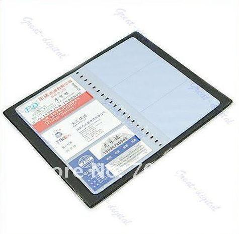 бесплатная доставка по cpam самых 1 шт./кредитных лот бизнеса удостоверения личности держатель 120 карт организатор кошелек книга