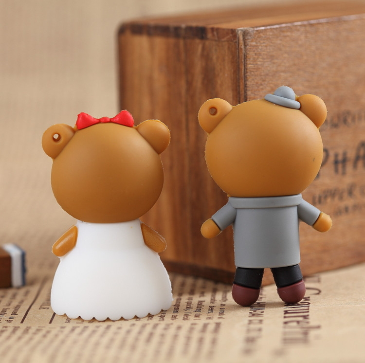 4 гб 8 гб 16 гб 32 гб plains wade платье медведь ручка водитель мультфильм USB2 и. 0 и USB Flash-заставить мини-подарок флешки 8 гб подарки бесплатная доставка