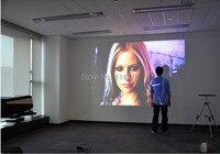 лучшие 5000 люмен 220 вт из светодиодов лампы полный HD проектор андроид 4.2 с 3D жк-проектор люмен с USB и Micro-HDMI и тв-тюнер для домашнего катетер