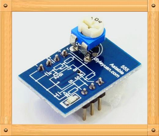 free shipping!!! 5pcs ne555 oscillator circuit modules diy5pcs ne555 oscillator circuit modules diy electronic production test professional module