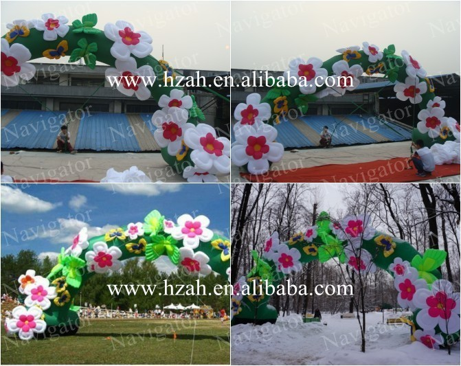 inflatable flower arch