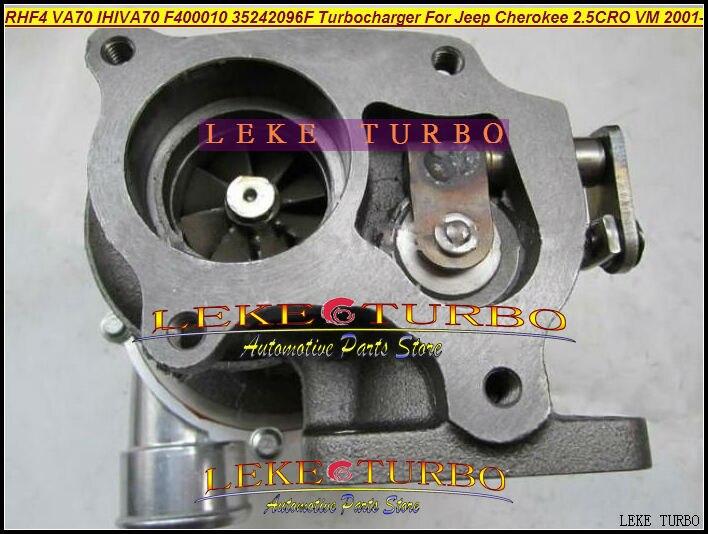 Jeep Cherokee 2.5L CRDTURBO IHI RHF4 VA70 IHIVA70 F400010 35242096F Turbine Turbocharger For Jeep Cherokee 2.5L CR (2)