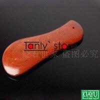 оптовая и розничная традиция иглоукалывание массаж инструмент прод 5а красный желтый Ban исцеление камень гуаша доска 100x35x5 мм