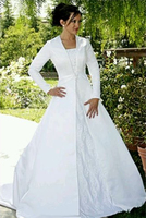 целомудрие с длинным рукавом скромный wade платье платье большой размер 26 белый
