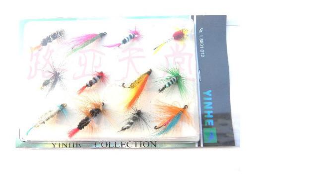 12 шт. муха для рыбалки крючки муха для рыбалки снасти лот форель карп жёсткая комплект сухой мухи рыба крюк приманки